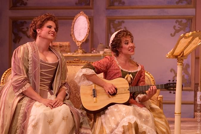 Opera San Jose_Susanna 4-Le Nozze di Figaro-2004. Pic: Bob Shomler