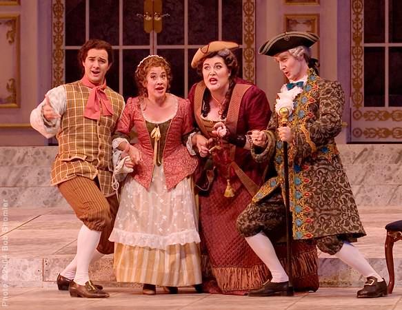 Opera San Jose-Le Nozze di Figaro-Susanna 6--2004 Pic- Bob Shomler